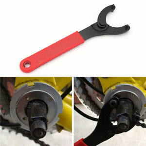 Bicycle Bottom Bracket Lock Ring Remover Crank Repair Spanner Wrench Tool Kits