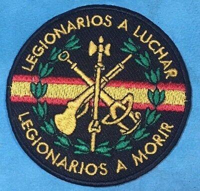 Parche Bordado Contraseña Legión EspañolaLEGIONARIOS A LUCHAR