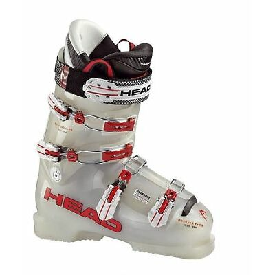 2012 Head RAPTOR 150 RD Racing Neutral/Red 22.5 Mens Ski Boots