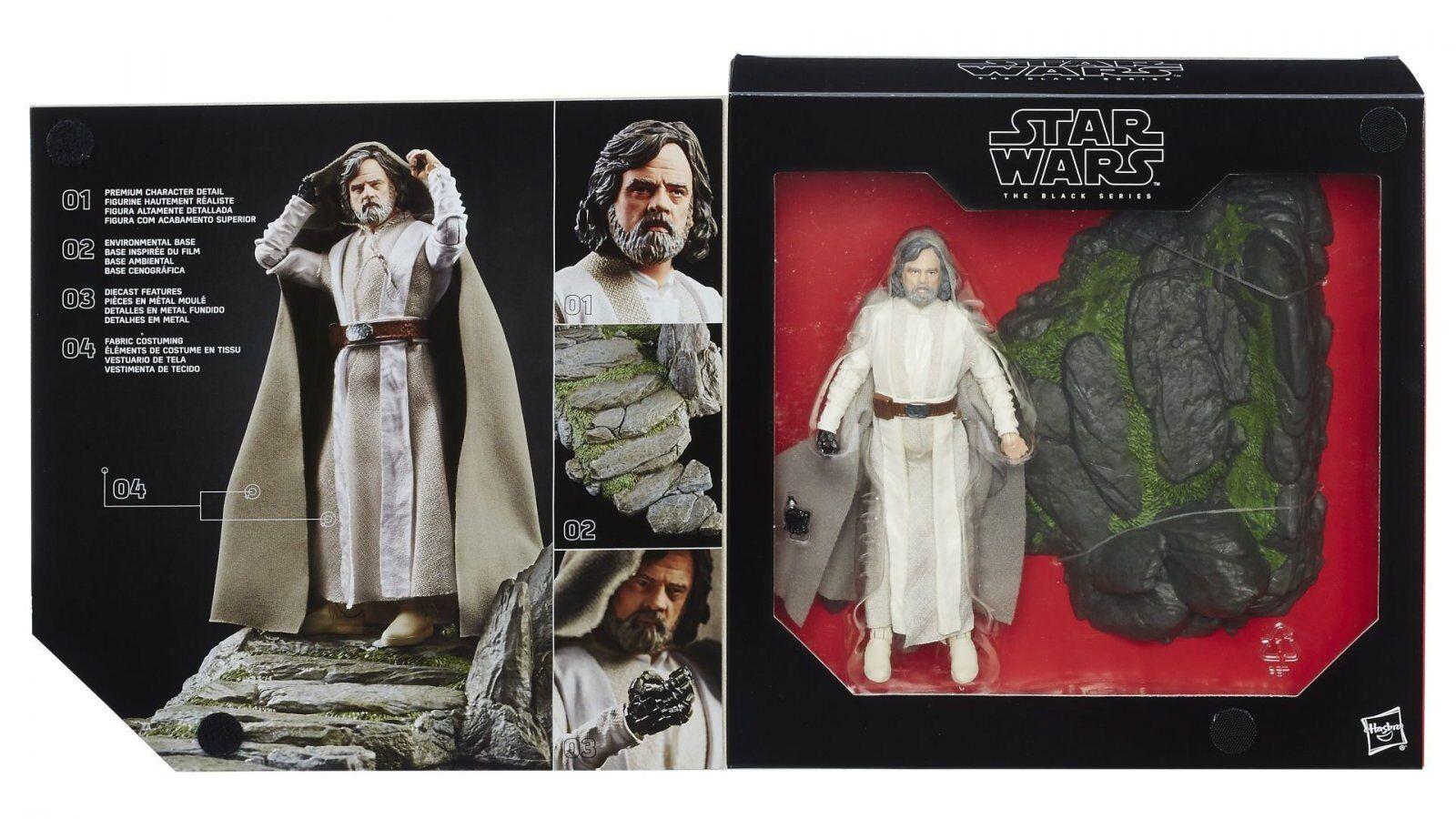Star Wars nero Series Luke Skywalker Jedi Master on Ahch Figure