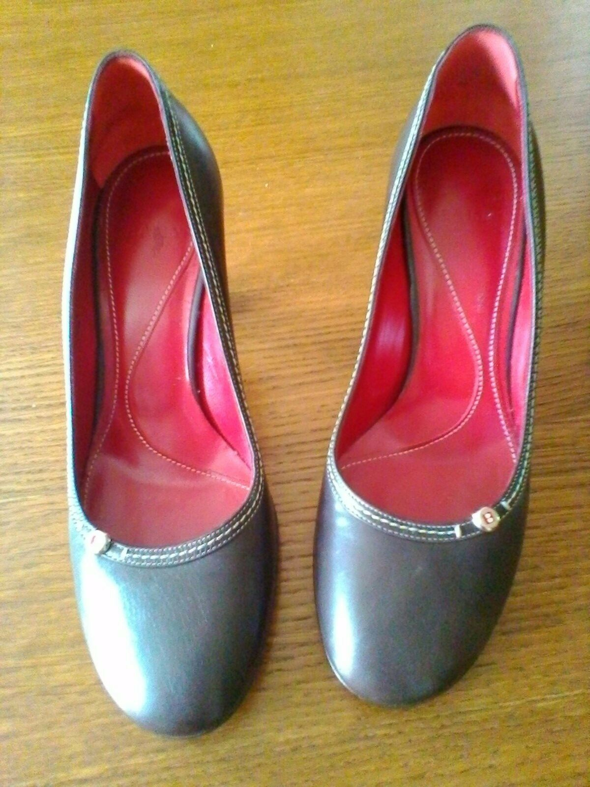 Bally Pumps Gr.37 top Zustand dunkelbraun