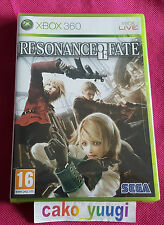 RESONANCE OF FATE XBOX 360 NEUF SOUS BLISTER VERSION FRANCAISE