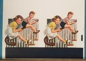 Vintage-original-signe-publicite-poster-circa-1950