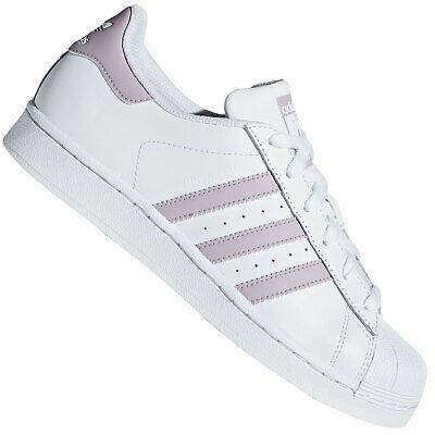 Adidas Originals Superstar Sneaker Shoes Lace up Trainers Damen Purple New | eBay