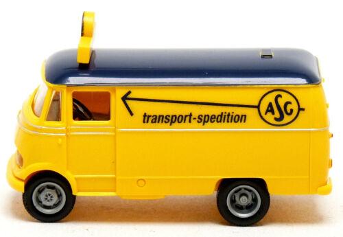 Brekina Spedition ASG Schweden LKW Transporter Modelle zur Auswahl 1:87 H0