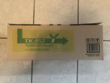 Kyocera TK-857Y Yellow Toner Cartridge Kit Genuine
