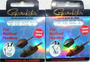 Brassen Feederfischen Feeders Gamakatsu Method Feeder Strong Haken Brachsen