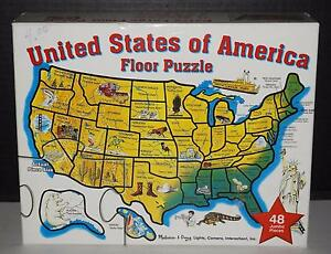 Details about Melissa & Doug Extra Large US United States Map Floor on alaska lower 48 map, usa map, sierra leone latitude and longitude map, us geographical map, oregon state map, letter size landscape us map, flat us map, connecticut longitude and latitude map,