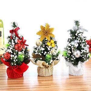 PT-Cn-Fj-20cm-Mini-Albero-di-Natale-Tavolo-Scrivania-Ornamento-Natale-Esib
