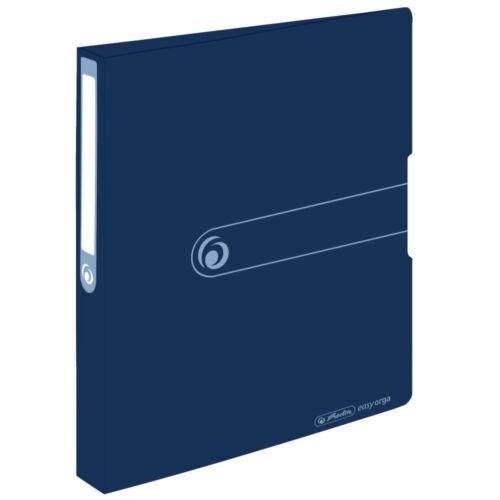 Farbe DIN A4 25mm Füllhöhe dunkelblau aus PP Herlitz Ringbuch