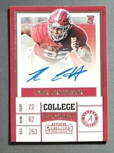 2017-Panini-Contenders-Ryan-Anderson-Redskins-RC-Rookie-Auto-Autograph