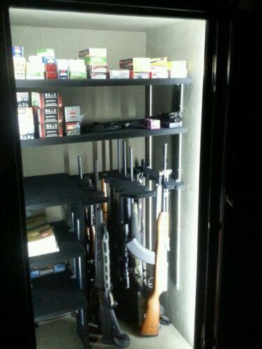 GUN SAFE LIGHT, THE BRIGHTEST LED KIT, 12v POWER SUPPLY OR BATTERY, FULL AUTO ON