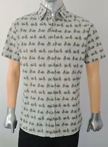 Run-and-Fly-Bicycle-Printed-Shirt-Cycling-Vintage-Retro-Short-sleeves-Cotton