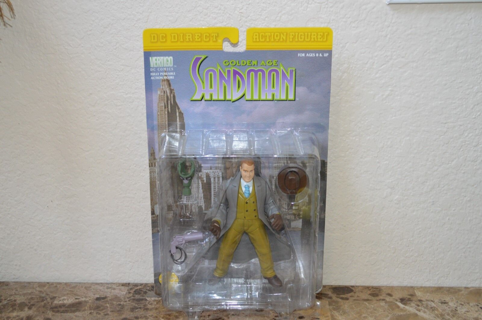 DC Direct Action figure greenigo golden Age Sandman 1999 Comics