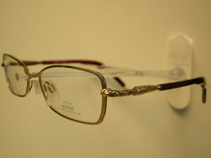 NEW NEOSTYLE MOZART 1505 958 GOLD ROLLED / RED EYEGLASSES CLEARANCE PRICE