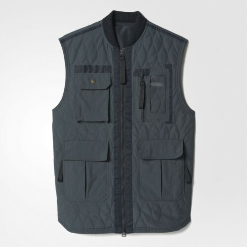 Adidas Consortium Day One Men Utility Vest gray solid grey