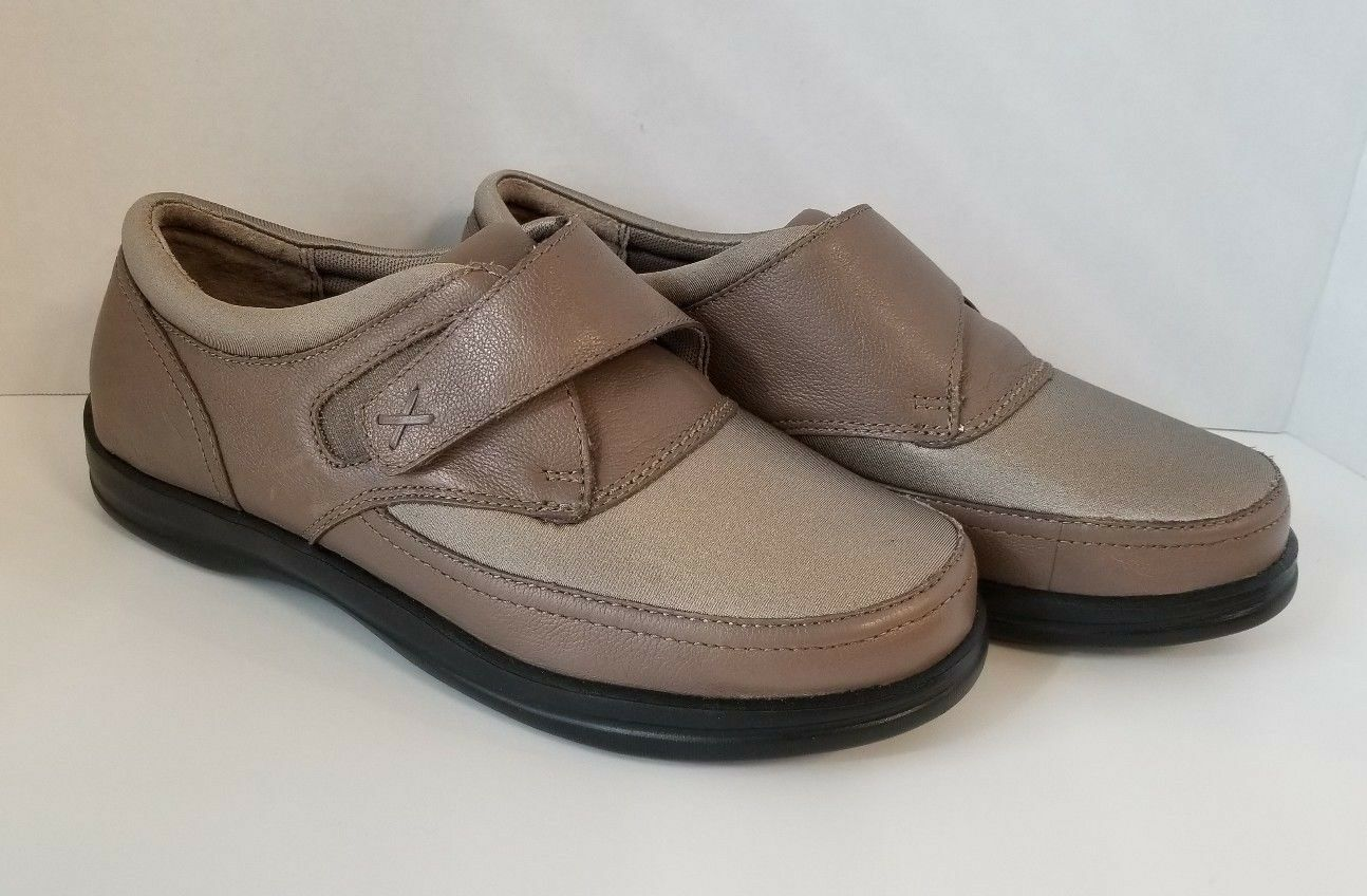 Apex femmes Emmy Therapeutic Diabetic Extra Depth chaussures Tan A723 9 Wide
