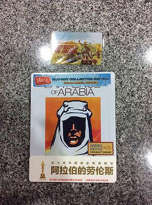 Lawrence of Arabia Blu-ray Steelbook w/ 1/4 slipcover | China HDzeta Exclusive