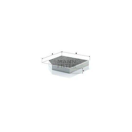 Filtro de 1 espacio interior aire Mann-Filter cuk 2641 adecuado para VAG