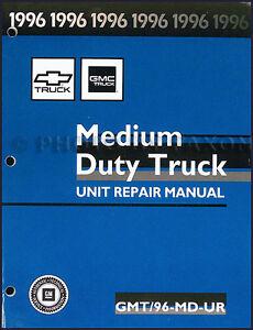 1996 chevy kodiak gmc topkick rebuild manual v8 gas engine overhaul rh ebay com 1996 gmc topkick owners manual 1994 gmc topkick manual
