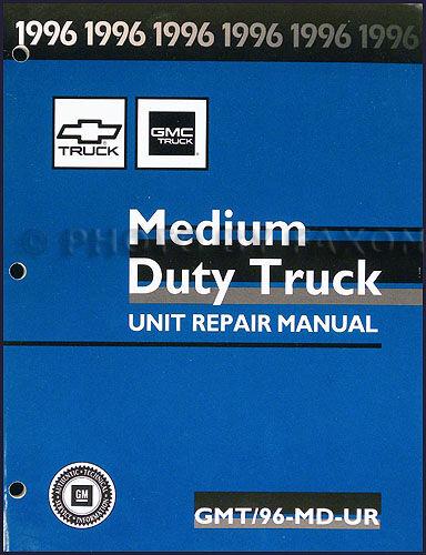 1996 Chevy Kodiak GMC Topkick Rebuild Manual V8 Gas Engine ...