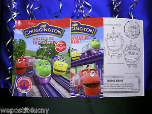Details about Chuggington Coloring Books Set of 2 Traintastic Wheels ..1  Koko Diecast Train