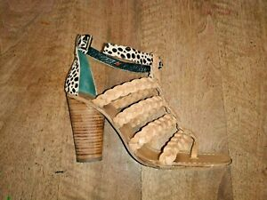 9cm Heel 139th All Ripicca Sandalo Leather New Sabbia Value Caval 39 Size T1S0OYqx