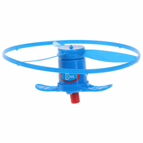 Outdoor Dragonfly Launcher Kid Toy Hand Twisting Flying Saucer Throw Disc uaSFLD