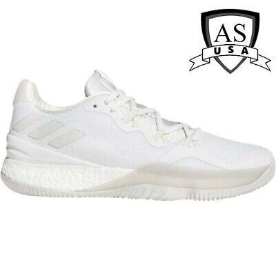 adidas Men's Crazy Light Boost 2018 Basketball Shoes White DB1072 Size 15 | eBay