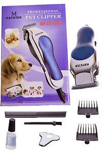 Hunde-Schermaschine-Rasierer-Tierhaarschneider-Haustier-trimmer-Katze