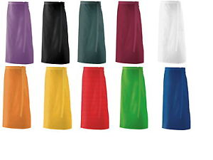 Exner Vorbinder Vorstecker Schürze Bistroschürze 90x60 verschiedene Farben