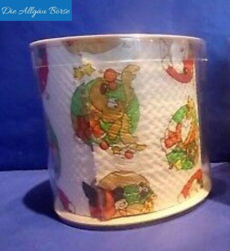 Toilettenpapier bedruckt Design Animal Weihnachten Xmas Geschenk Klopapier Neu