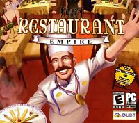 Restaurant Empire Pc Games Window 10 8 7 Vista Xp Computer Business Strategy