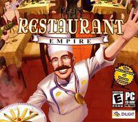 Restaurant Empire Pc Games Window 10 8 7 Vista Xp Computer Business Strategy