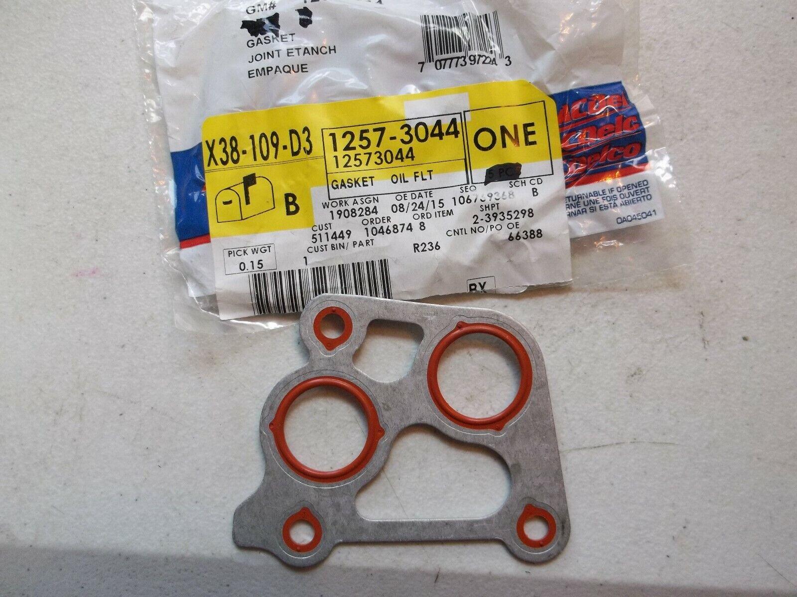 Engine Oil Filter Adapter Gasket General Motors 12573044