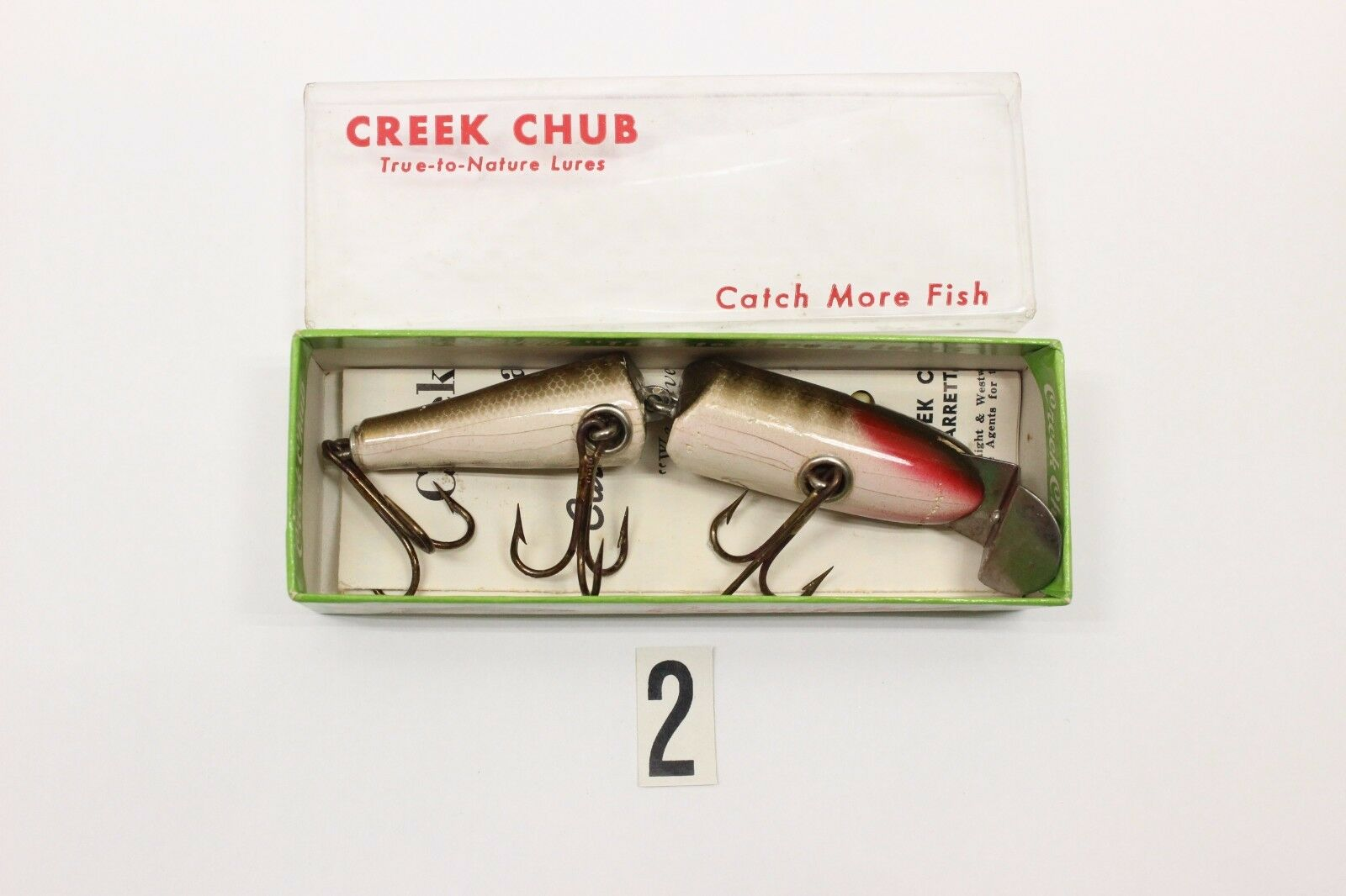 Creek Chub Lure Co. No 2600 Fishing Lure in  Box  hot limited edition
