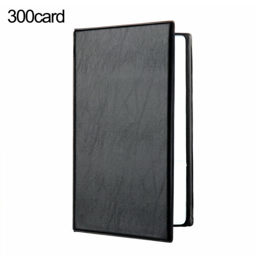 Craft Container Collection Card Holder Books Book Case Leather Cards Album