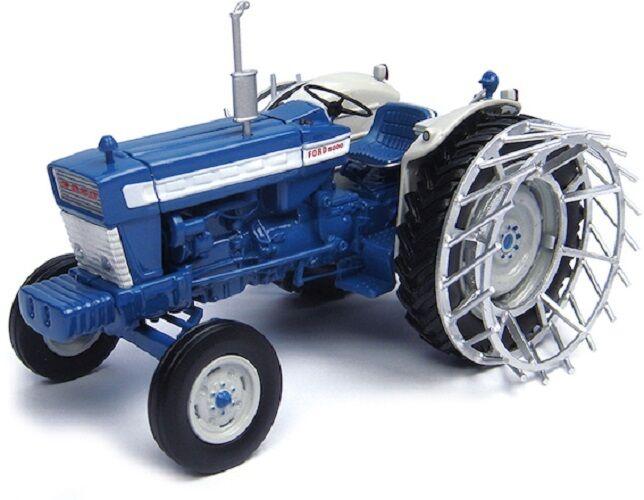 Universal HOBBIES TRACTEUR FORD 5000 avec roues de cage. 1 32 échelle-uh4879