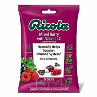 6 Pack Ricola Mixed Berry With Vitamin C Supplements 19 Drops Each on sale