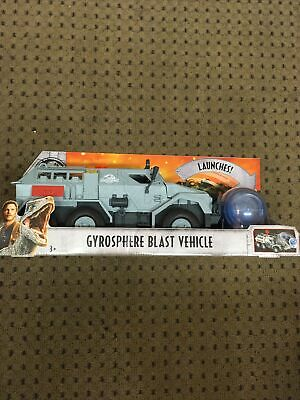 SHIP ASAP! BRAND NEW Jurassic World Fallen Kingdom GYROSPHERE BLAST VEHICLE