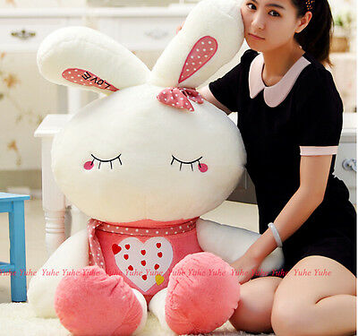65cm 26'' Lovely Plush Doll Toy Stuffed Animal Rabbit Pillow Quality Bolster New