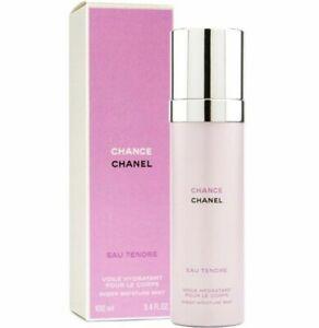 204ea329 Details about Chanel Chance EAU TENDRE-Sheer Body Moisture  Mist-3.4oz/100ml-Brand New In Box