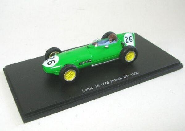 Lotus 16 No. 26 D.Piper British Gp 1960