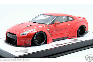 1-18-Make-Up-LB-R35-GTR-Duck-Tail-Version-in-Red-35-40-Free-Shipping-MR-BBR