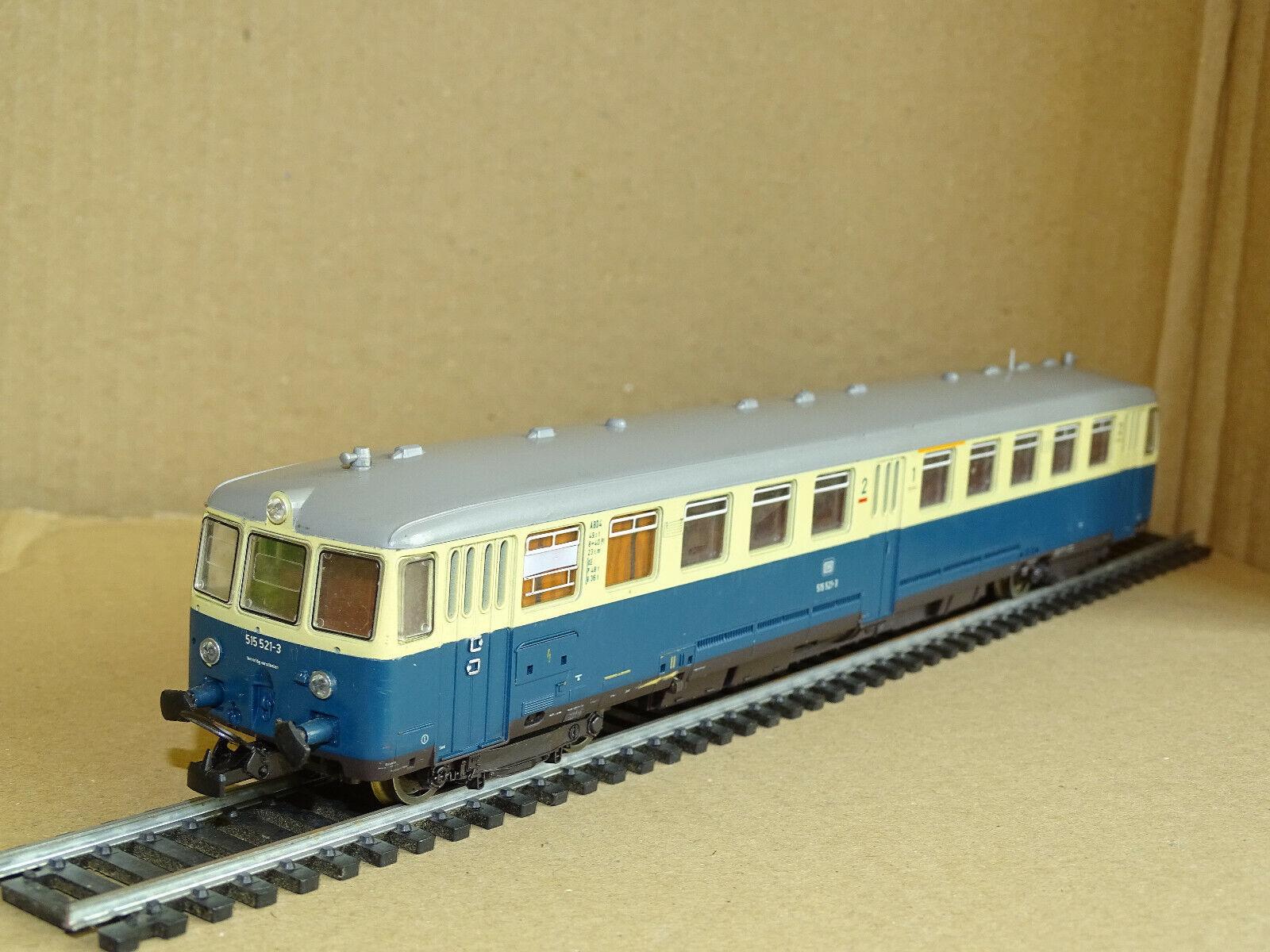 LIMA H0 201214 DB BR 515 521-3 521-3 521-3 Akku-Triebwagen Bundesbahn Ep. IV gut erhalten  | Charmantes Design  0239c2