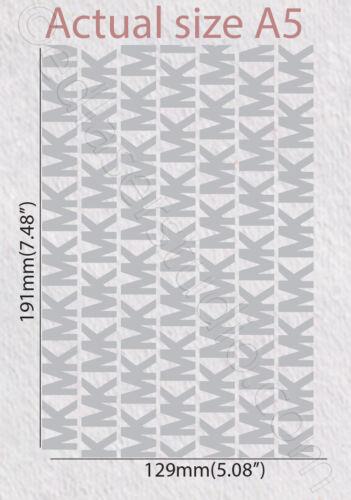 Famous design Stencil Pattern Card  Cake Furniture Journaling Painting Art TE293