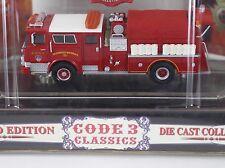 Code 3 Classic FDNY MACK CF Hazmat Co. 1 Fire Truck 1:64 Diecast 12370