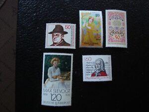Germany-Rfa-stamp-Yvert-Tellier-N-741-758-803-839-917-N-MNH-COL9