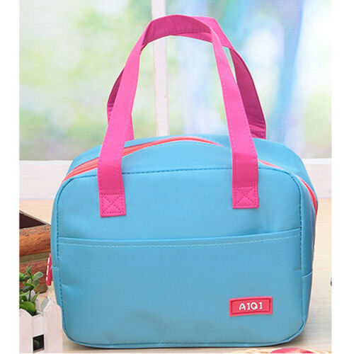 Lunch Box Bags Insulated Cool Bag Picnic Bags School Students Lunchbox Pouch HOT