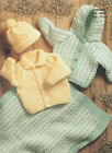 baby childrens jackets hat and blanket chunky knitting pattern 99p 39